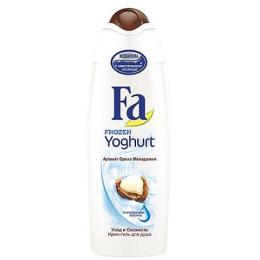 """Fa крем-гель для душа """"Frozen Yoghurt. Аромат ореха макадамии"""""""