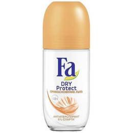 "Fa дезодорант-антиперспирант роликовый ""Dry. Protect. Прикосновение льна"", 50 мл"