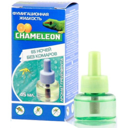 Chameleon дополнительный флакон от комаров 65 ночей ароматом грепфрута