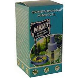 Migan дополнительный флакон от комаров без запаха 45 ночей