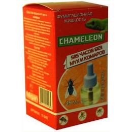 Chameleon дополнительный флакон от мух комаров 585 ночей