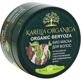 "Karelia Organica маска для волос ""Organic. Beryoza. Интенсивное укрепление и восстановление"""