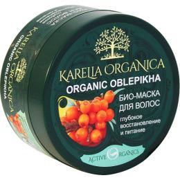 "Karelia Organica маска для волос ""Organic. Oblepikha. Глубокое восстановление и питание"""