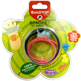"""Bugstop браслет от комаров """"Kids&Toy"""" +  игрушка"""