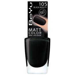 """BeYu лак для ногтей """"Matt Color"""" с матовым эффектом, 9 мл"""