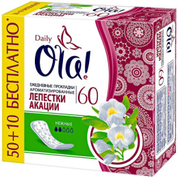 "Ola прокладки ежедневные ""Daily Deo. Лепестки акации"""
