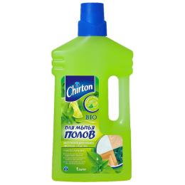 """Chirton чистящее средство для мытья полов """"Лайм и Мята"""", 1 л"""