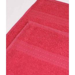 Ituma полотенце махровое, малиновое 100х180 см