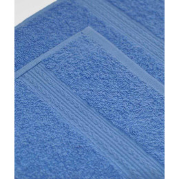 Ituma полотенце махровое, голубое 100х180 см