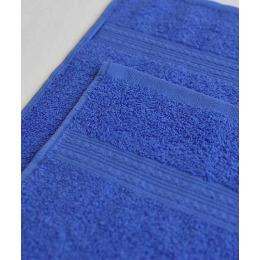 Ituma полотенце махровое, синие 40х70 см
