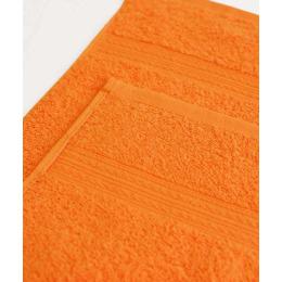 Ituma полотенце махровое, оранжевое 50х90 см