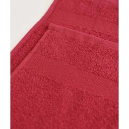 Ituma полотенце махровое, бордовое 50х90 см