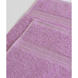 Ituma полотенце махровое, сиреневое 70х140 см