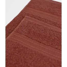 Ituma полотенце махровое, шоколадное 70х140 см