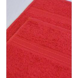 Ituma полотенце махровое, красное 70х140 см