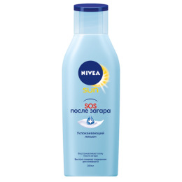 Nivea Sun лосьон после загара SOS-восстанавление