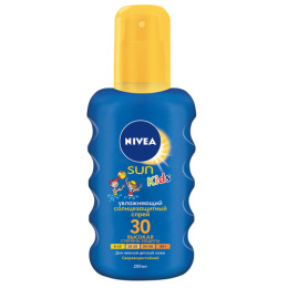 Nivea Sun спрей для детей Цветной Солнцезащитный spf 30