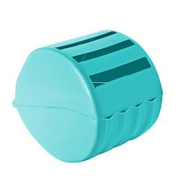 Пластик центр держатель для туалетной бумаги бирюзовый