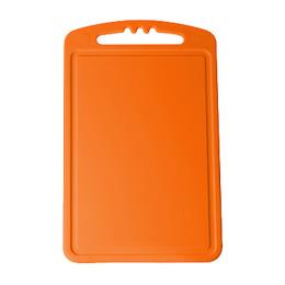 Пластик центр доска разделочная малая 240х150х4 см, мандарин