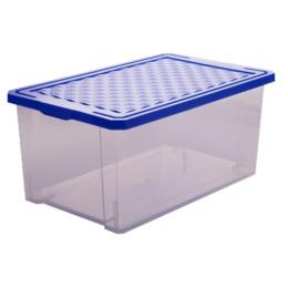 "Пластик центр ящик для хранения ""Optima"" 17 л, синий лего"