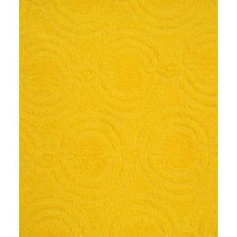 "Ituma полотенце махровое жаккард 50х100 см ""Средний желтый"""