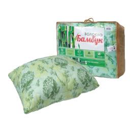 """Мягкий сон подушка """"Бамбук"""" 70х70 см, стеганое полотно, дизайн в ассортименте"""