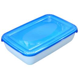 """Plast Team емкость для СВЧ и хранения продуктов """"Polar micro wave"""" прямоугольная  0.45 л, лаймовый"""