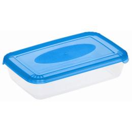 """Plast Team емкость для хранения пищевых продуктов """"Polar"""" прямоугольная 0.45 л, лаймовый"""