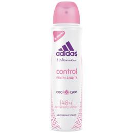 "Adidas дезодорант антиперcпирант ""Control"" для женщин, спрей"