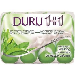 """Duru мыло """"Зеленый чай"""" 4+1 х 90 г"""