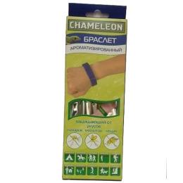 Chameleon браслет ароматизированный защищающий от укусов комаров, москитов, мошек