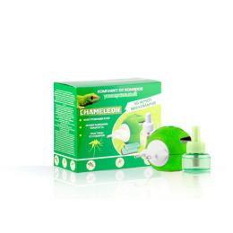 Chameleon комплект универсальный от комаров фумигатор + дополнительный флакон 30 мл + 10 таблеток