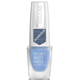 """IsaDora лак для ногтей """"Velvet Matt Nails"""" 6 мл"""