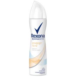 "Rexona антиперспирант для женщин ""Комфорт льна"" аэрозоль, 150 мл"