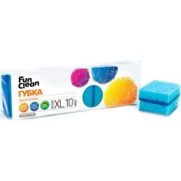 Fun Clean губка для мытья посуды XL 10 шт