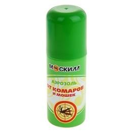Москилл аэрозоль от комаров и мошек, 100 мл