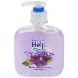 """Help жидкое мыло с дозатором """"Антибактериальный эффект"""""""