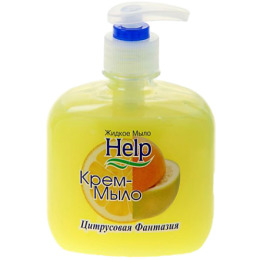"""Help крем-мыло """"Цитрусовая фантазия"""" с дозатором"""