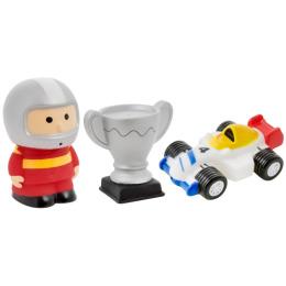 """Курносики набор игрушек-брызгалок для ванны """"Автоспорт"""""""