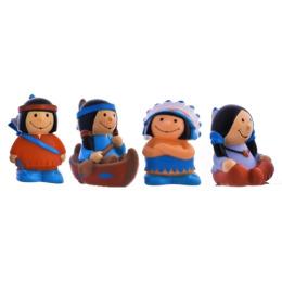 """Курносики набор игрушек-брызгалок для ванны """"Индейцы"""""""