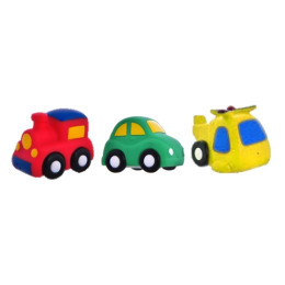 """Курносики набор игрушек-брызгалок для ванны"""" Транспорт"""""""