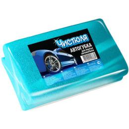 Чистюля автогубка с фаской для мытья автомобиля