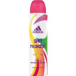 "Adidas дезодорант-антиперcпирант для женщин ""Cool&Care Get ready!"" спрей"
