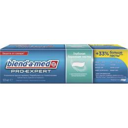 """Blend-a-med зубная паста """"ProExpert. Ледяная мята"""" глубокая бережная чистка"""
