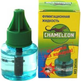 """Chameleon жидкостной комплект от комаров """"45 ночей"""" прибор + дополнительный флакон, 45 мл"""