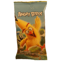 "Angry Birds салфетки влажные ""Movie"""