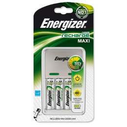 Energizer зарядное устройство Maxi Charger + батарейка 2200 mAh 4 шт