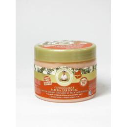 Рецепты бабушки Агафьи маска для волос интенсивное питание и восстановление облепиховая