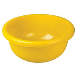 Plast Team таз круглый, желтый