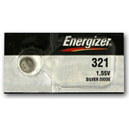 Energizer батарейка часовая Silver Oxide 321 MBL